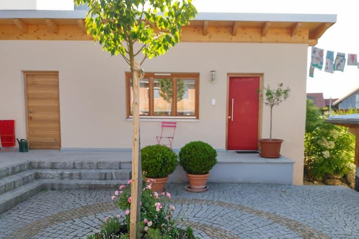 Kleines Bioappartement - Blick über´s Inntal 100m
