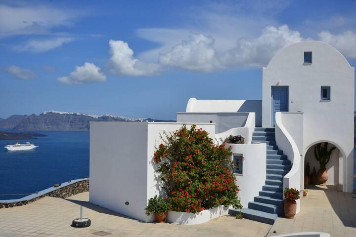 See Santorini Akrotiri Sea view 3 - Santorini - Wohnung