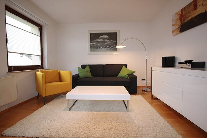 Cozy flat 10 min. from City-Center