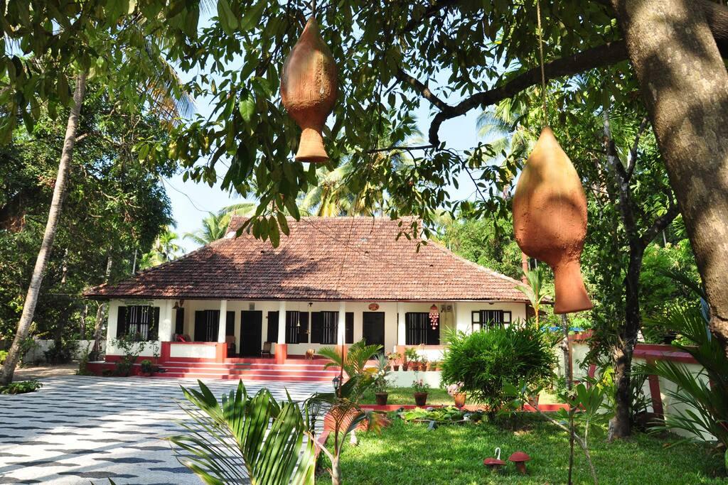 Riverside heritage bungalow.