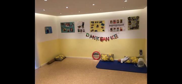 Seminarraum, Jogaraum, Tagungsraum, Gymnastikraum