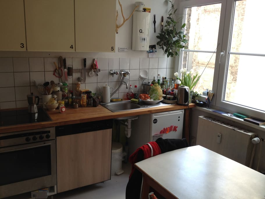 Tadaa. My most beloved kitchen.