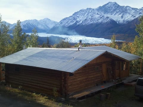 Glacier View Log Cabin
