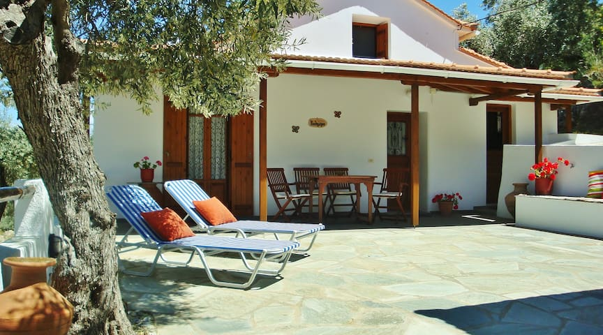 Cute cottage in olive tree grove. - Skopelos - Maison