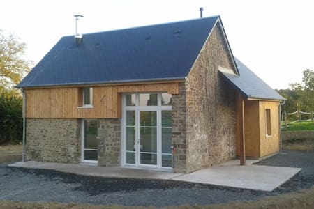 Cottage in Normandy with horses - Saint-Martin-de-Bonfossé - Alpstuga