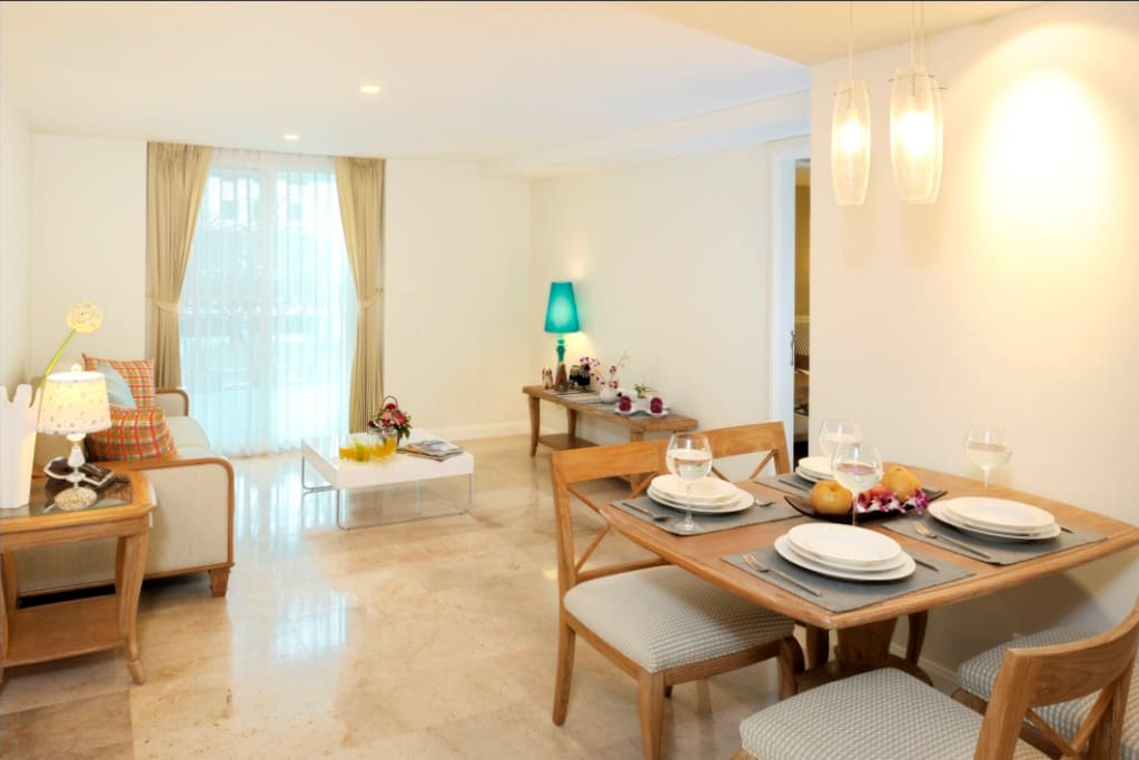 2 Bedroom suite@ Sabai Sathorn