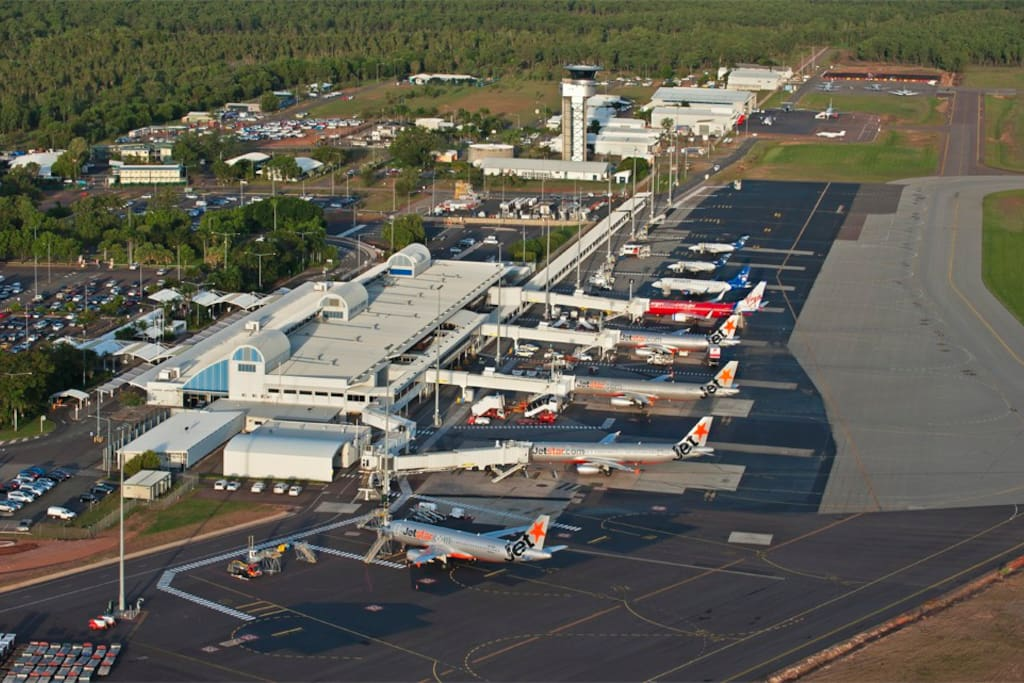 Only 7 minutes drive from/to Darwin International Airport