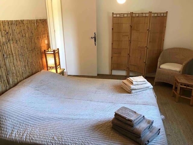 Chambre bambous