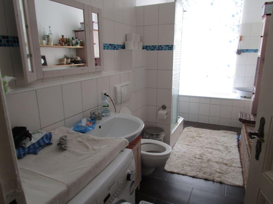wc shower bathtub