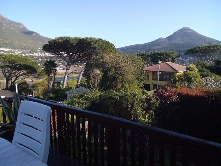 To your right is a view of Little Lions Head.