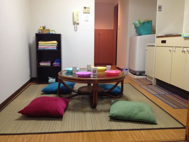 NicestAccess! WiFi! Clean! 2 Rooms! - Nakagyō-ku, Kyōto-shi - Apartment