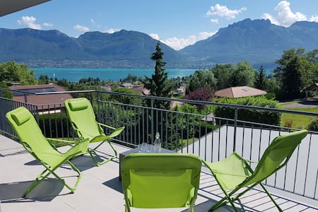 GREAT view on Annecy LAKE - NEW 4* with terrace