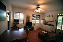 360 view of living area