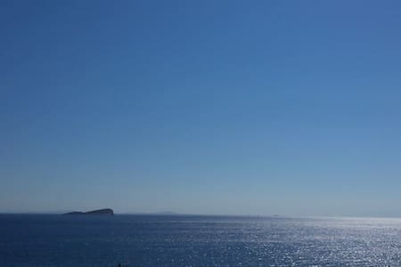 ΕNDLESS BLUE from Syros (1st house) - Σπίτι