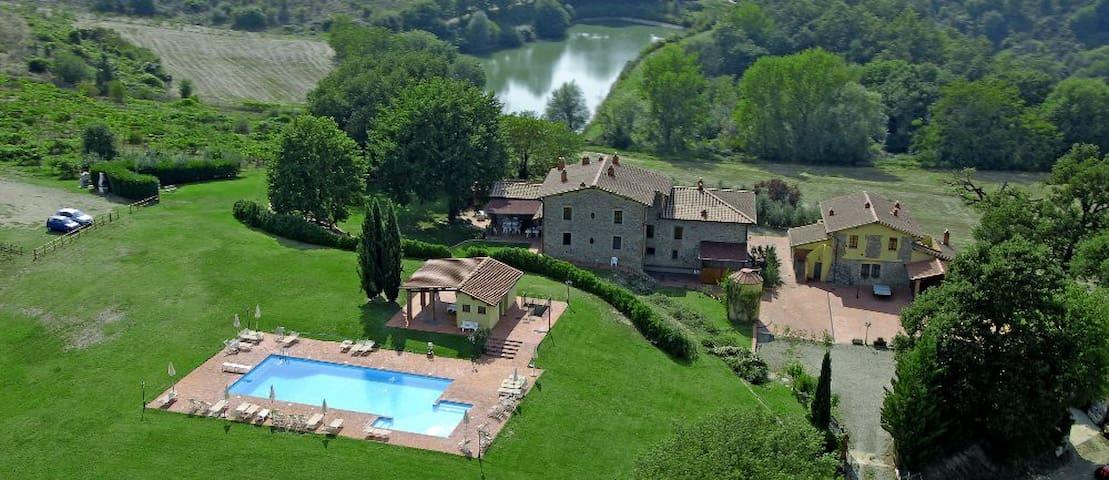 Casa Chianti, Agriturismo Toscana - Pergine Valdarno - Appartamento