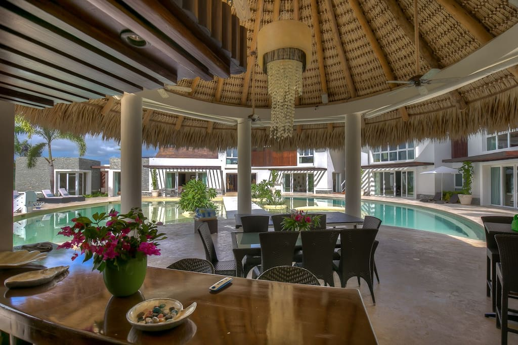 Tropical dream villa at cap cana villas for rent in for Punta cana villa rentals