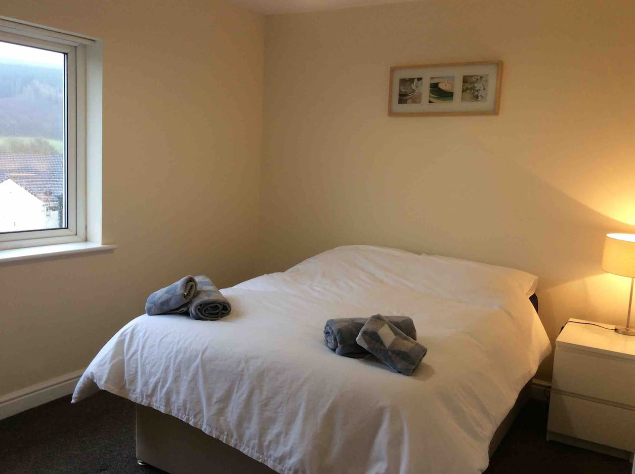Double Bedroom with views over Dent Fell