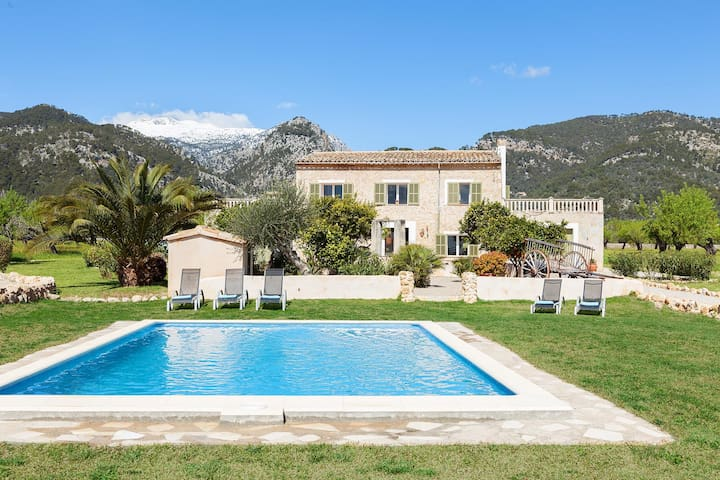 Country Finca with Stunning views - Selva - Casa