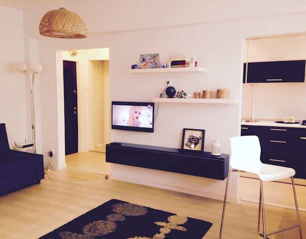 Cozy Studio - Floreasca/Dorobanti - Boekarest - Appartement