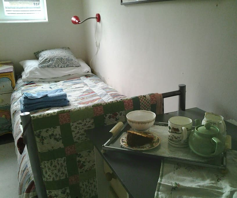 Tea and cake on arrival if you'd like.