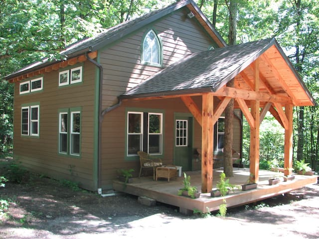 Clarion River Timberframe Cabin