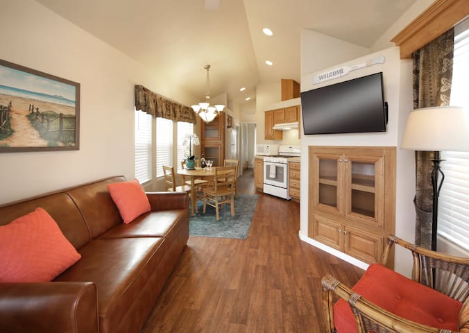 Cozy Vacation Cottage 200 at Pismo Sands RV Resort
