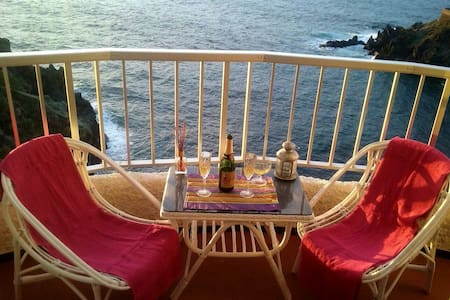 Amazing view of the Atlantic ! - San Marcos - Apartamento