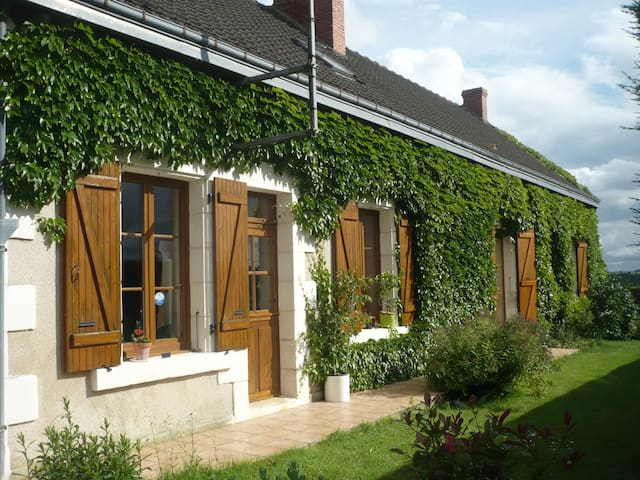 Chambre Marine + table d'hôte - Châtillon-sur-Indre - Haus