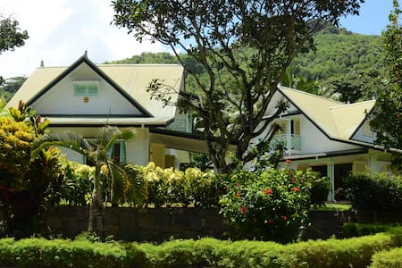 Creole style villa near the beach