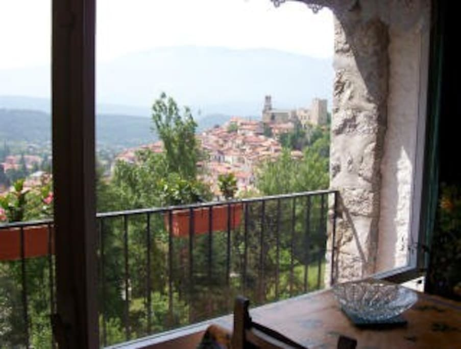 View from the lounge - and the kitchen and bedrooms offer the same view