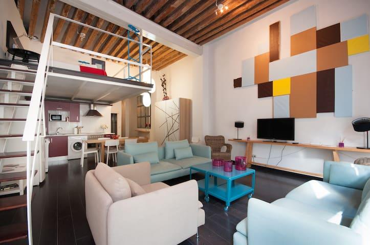 LOFT MADRID CENTRO-PUERTA DEL SOL - Madrid - Apartment