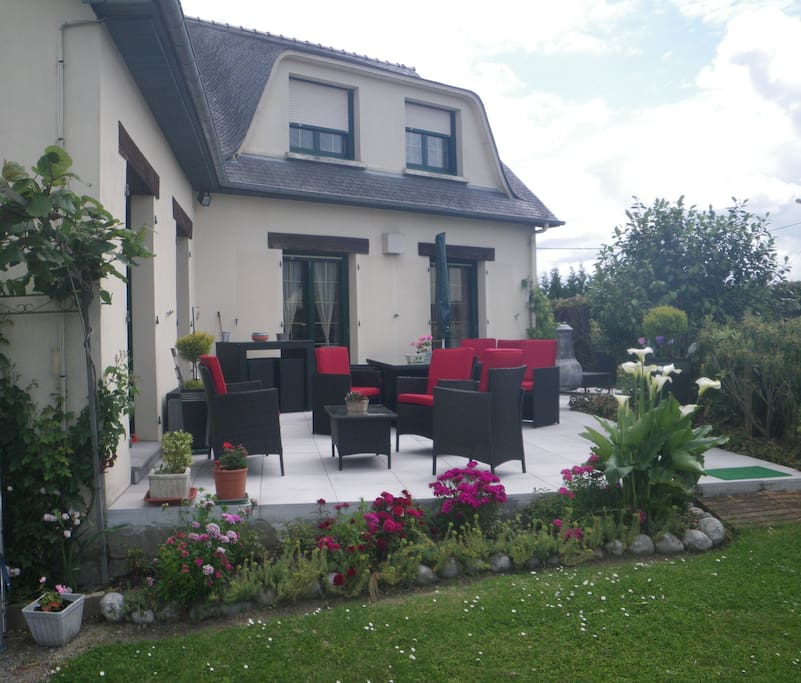 Chambre d 39 hote beau pavillon dol bed and breakfasts for - Chambre d hotes dol de bretagne ...