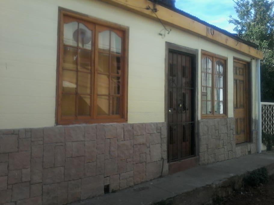 fachada de casa Ferhman