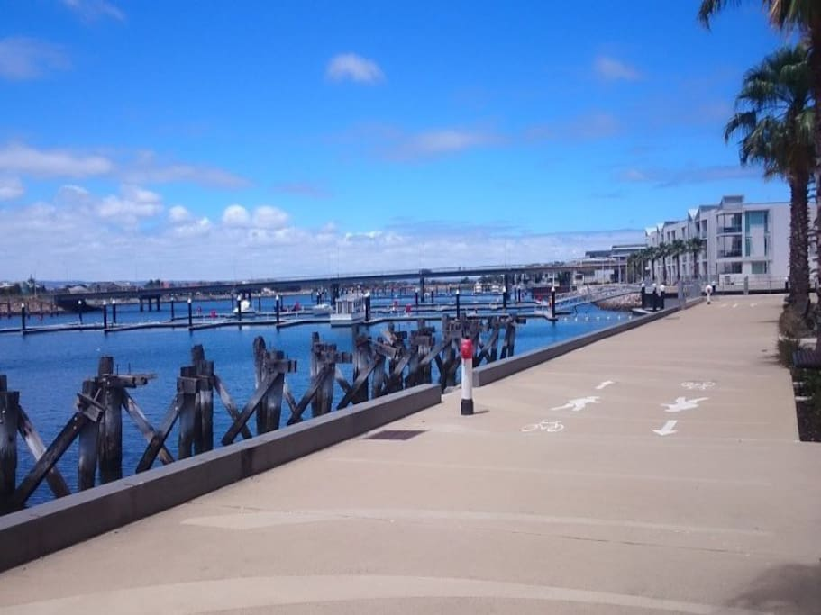 Great walking trail, and dolphin viewing areas