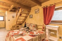 Holiday apartment with 1 bedroom on 33m² in Brusson Vollon AO