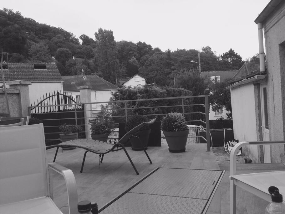 Si bonne entente possibilité d utiliser la terrasse