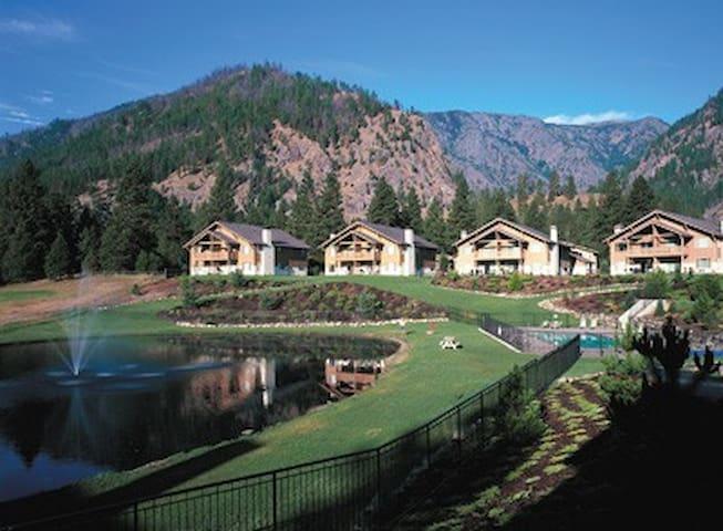 Washington-Leavenworth Resort 2 Bdrm Condominium