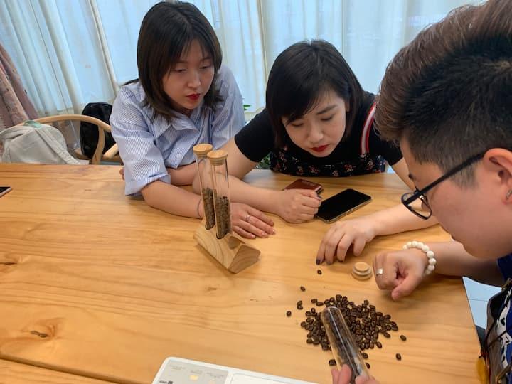 不同烘培程度咖啡豆识别