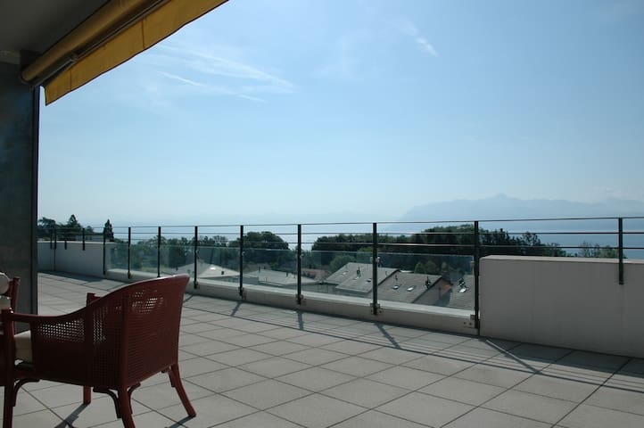 3 bed flat with breathtaking views  - Saint-Prex - Appartement