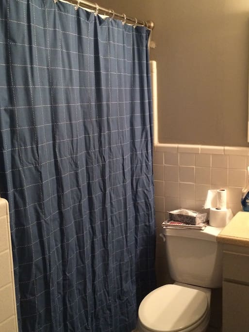 Fully stocked hall bathroom -- updated picture coming soon