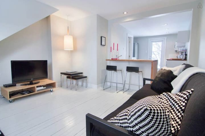 Cozy and charming apartment - Ville de Québec - Flat