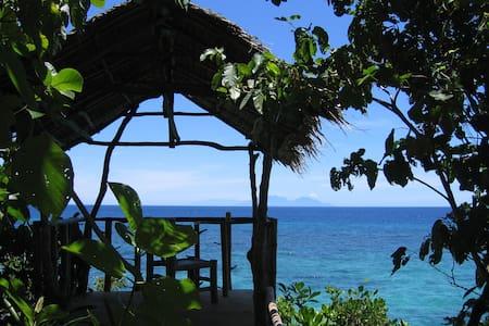Kims-Garden ocean view bungalow