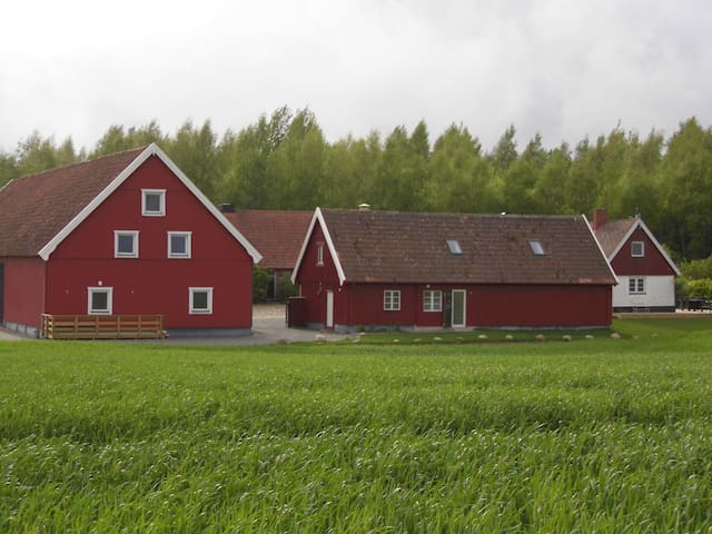 2 bed barn conversion nr Ystad, perfect for family - Ystad M - 公寓