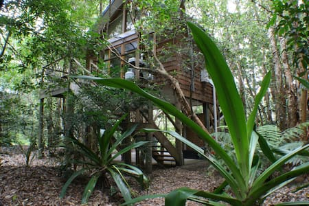 Treehouse in the Bush by the Beach! - Boat Harbour - Stuga