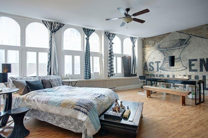 Loft Space for the Style Conscious  - Montréal - Loft