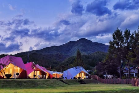b a n u -- boutique tented resort - Bukbang-myeon, Hongcheon-gun - Tenda