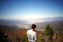 scenery from top of Mt. Morai, it takes 2 hours on foot/茂来山山頂(徒歩2時間)