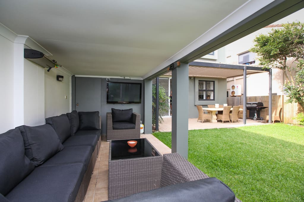 Undercover area which is great for outdoor entertaining
