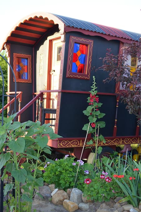 Outside View of the Gypsy Wagon