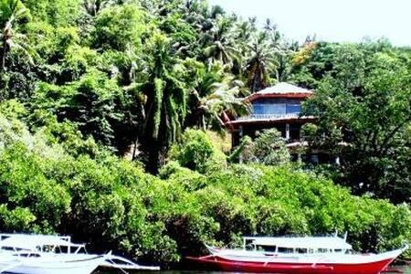 Secluded 6 Bedroom Oceanside Villa - Puerto Galera - 別荘